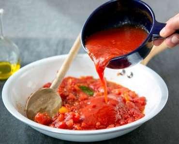 Receita de Molho de tomate Italiano Caseiro