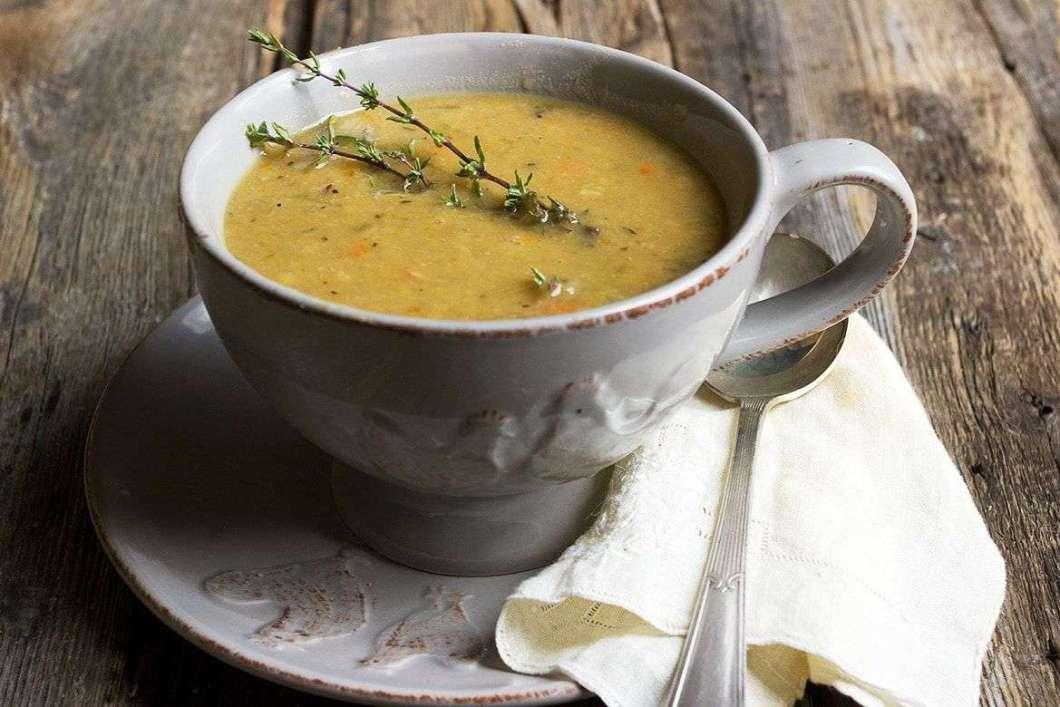 Receita de Sopa de Ervilha Cremosa e Rápida