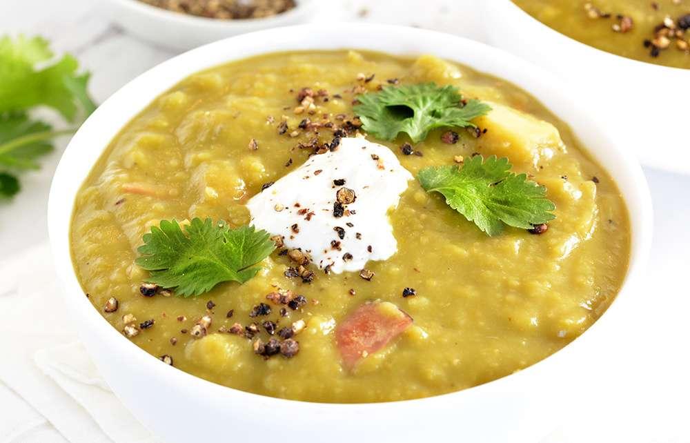 Receita de Sopa de Ervilha com Calabresa Tudo Gostoso
