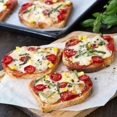 Receita de Pizza de Pão de Forma da Vovô