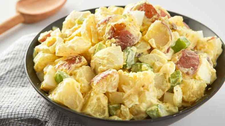 Receita de Salada de Batata Ana Maria Braga