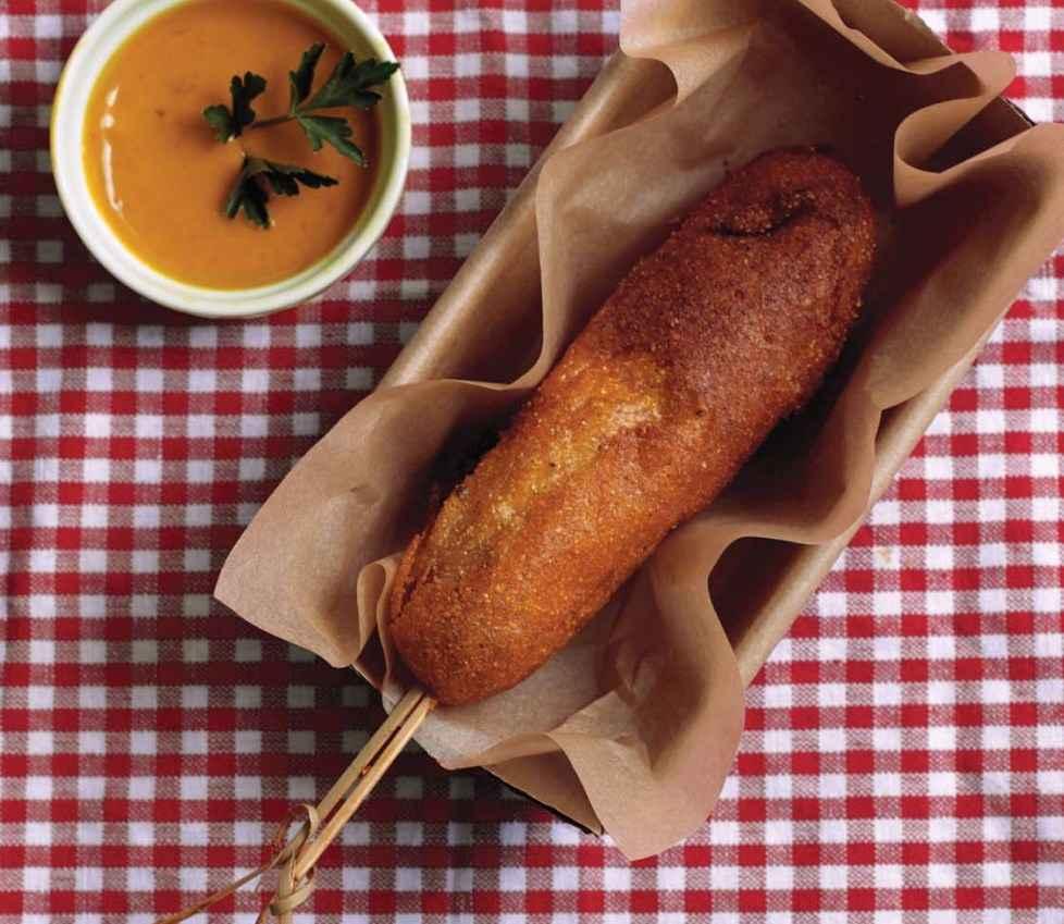 Receita de Salsicha Empanada Americana