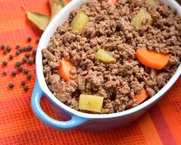 Receita de Carne Moída com Batata Rápida