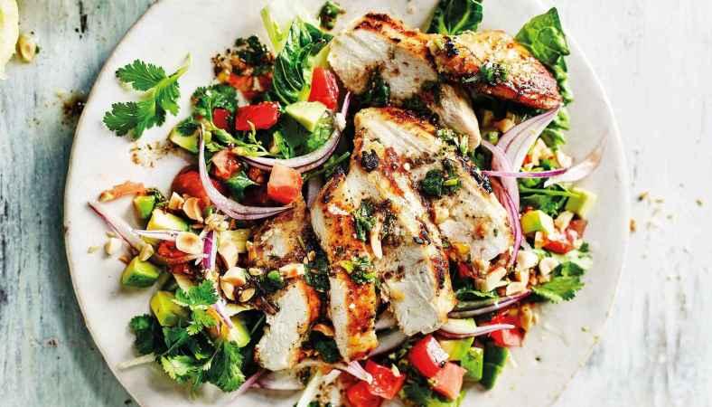 Receita de Salada de Frango Fácil