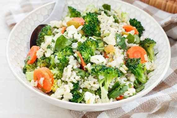 Receita de arroz com Brócolis cheiroso e Bonito