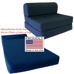 Sleeper Chair Folding Foam Bed Full Size Kid Desk And Set Futon  Making Space In A Small Cool