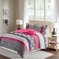 Pink and Black Zebra Bedding  Achieving a Stylish Child's ...