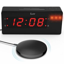 Iluv Dual Alarm Clock With Bed Shaker Cool Ideas