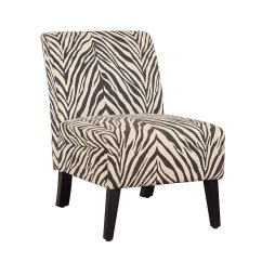 Animal Print Accent Chairs Fishing Chair Rod Holder Zebra  A Versatile Cool Ideas For Home