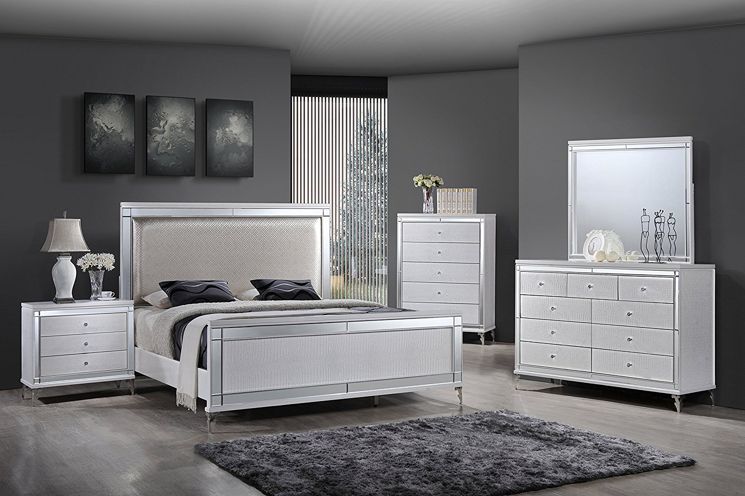 Mirrored Bedroom Furniture Sets Choice  Cool Ideas for Home