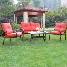 Wrought Iron Patio Furniture Home Backyard Cool