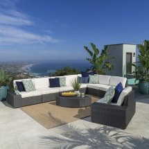 White Wicker Patio Furniture Nice Accent Cool Ideas