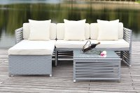 White Wicker Patio Furniture  Nice Accent | Cool Ideas ...