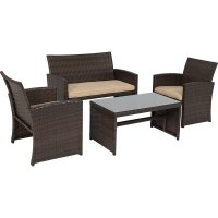 Resin Wicker Patio Furniture  Nice Outdoor Addition ...