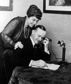 A Biographical Sketch of Calvin Coolidge