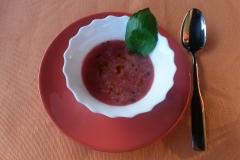 Olaszos görögdinnye leves