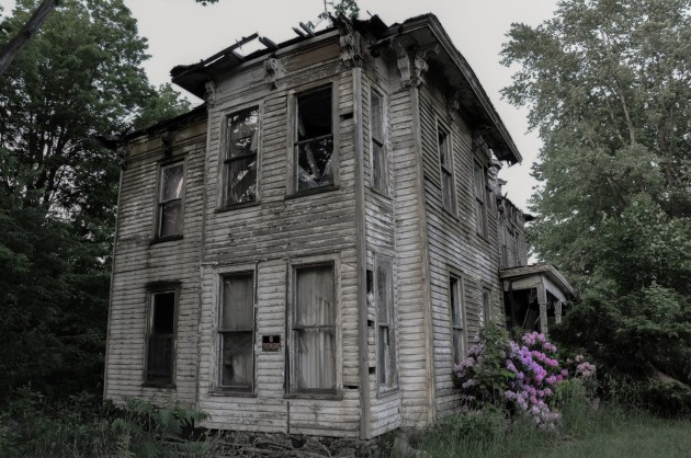 A haunted house in New  York