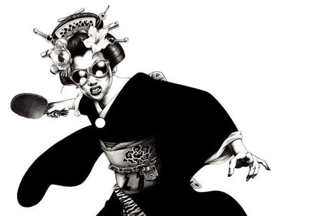 Ping pong geisha©inkult magazine.com