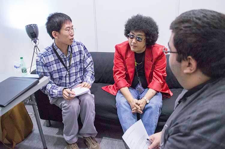 Entrevistando a Nabeshin shinichi watanabe