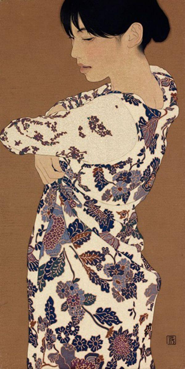 A veces la sensualidad se emana de manera natural.©Ikenaga Yasunari