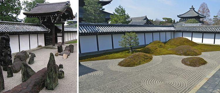 Jardines del templo Tōfuku-ji (Sur)
