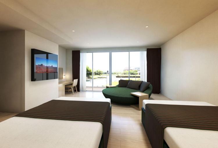 Una de las habitaciones inteligentes del hotel Fuente: ©HUISTEN BOSCH