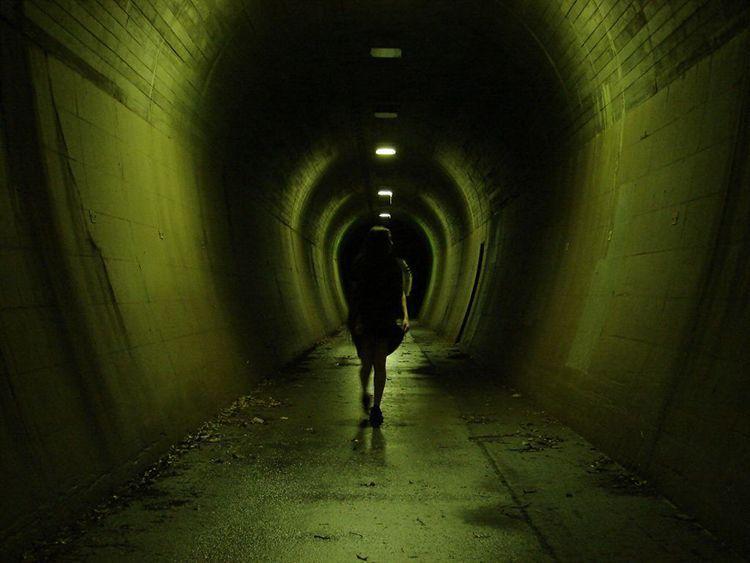 ¿Atravesar un túnel a oscuras se puede considerar kimodameshi?