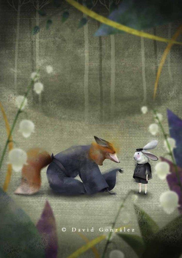 Encuentro con el zorro, Kai-no-hi, Chidori Books ©David González