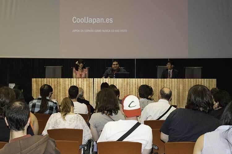 Presentación de CoolJapan.es con Hajime Kishi, asesor de la Embajada del Japón