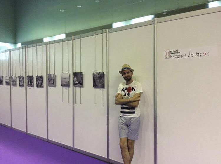 Exposición de Roberto Marquino