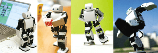 PLEN2, el robot skater.