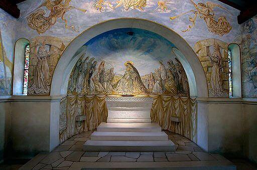 Chapelle Fujita en Reims, Altar