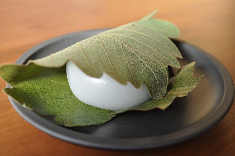Kashiwamochi es dulce para mayo.