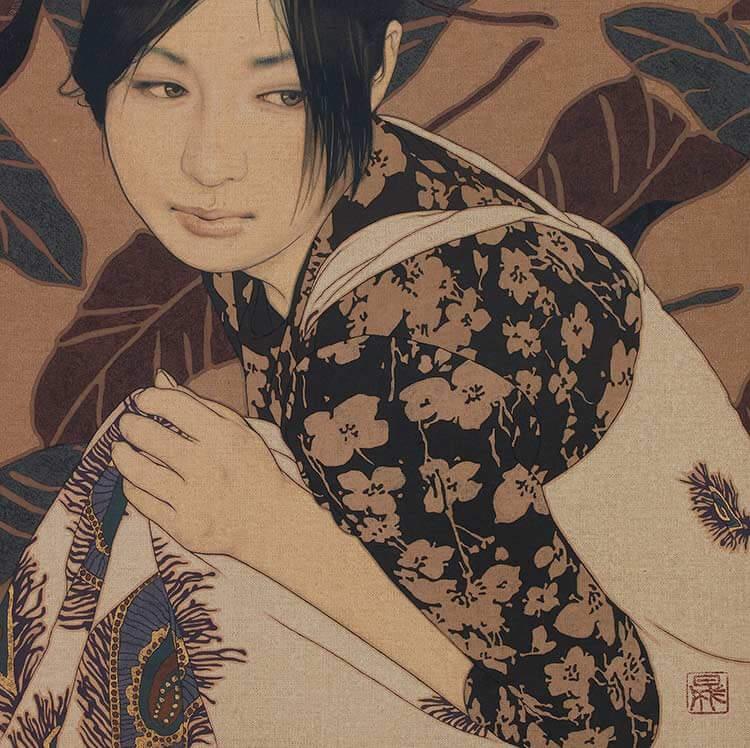 「困る・愛美」 ©IKENAGA YASUNARI