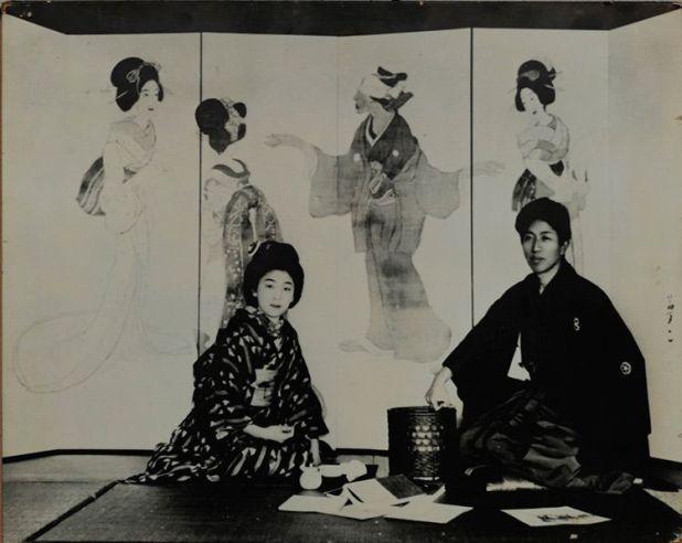 Hikono con Yumeji.