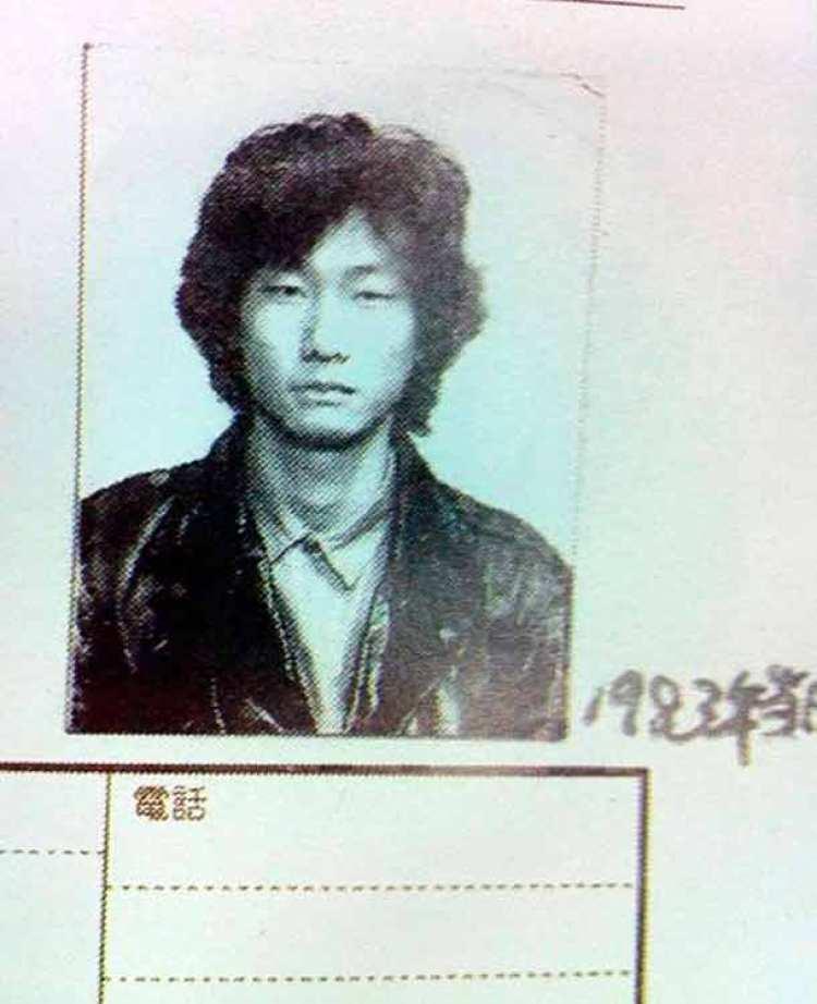 Hideo Kojima en el año 1983, durante sus estudios en Educación Secundaria.
