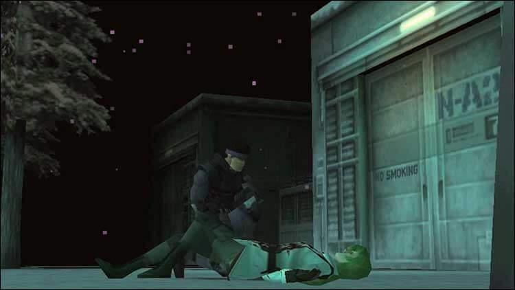 La muerte de Sniper Wolf. La francotiradora, enemiga de Solid Snake, nos ofrecerá uno de los mejores momentos de la historia del videojuego, con ese duelo de rifles de francotirador, bajo un paraje nevado. Su muerte, también fue un momento emotivo para el jugador. Llegándonos a importar realmente un villano y sus motivaciones.