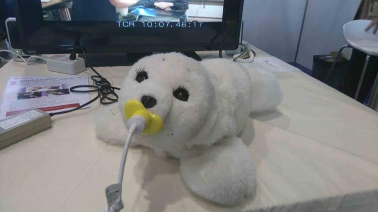 PARO, el robot foca más tierno del mundo