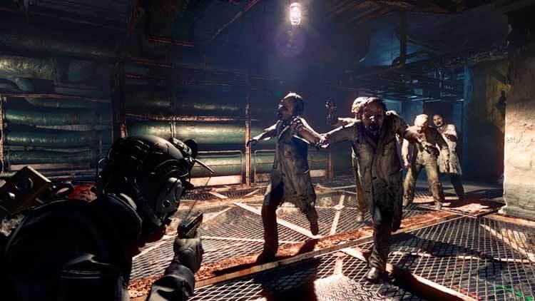 Captura de pantalla de la futura versión de PC de Resident Evil: Umbrella Corps (Mayo de 2016).