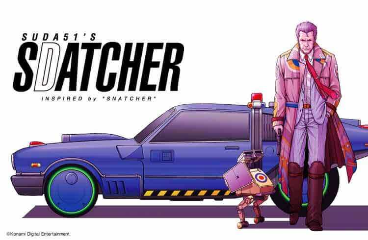 Imagen promocional para Snatcher, por Goichi Suda (Suda 51)