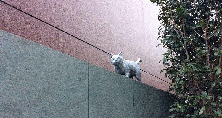 La casa de Sōseki ya no existe, pero el gato aún esta allí