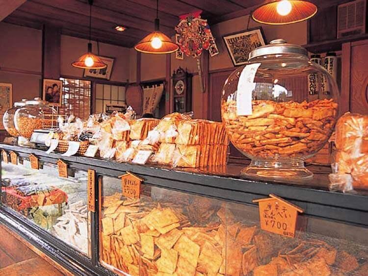 Kikumi Senbei Sohonzan, tienda de galletas de arroz.