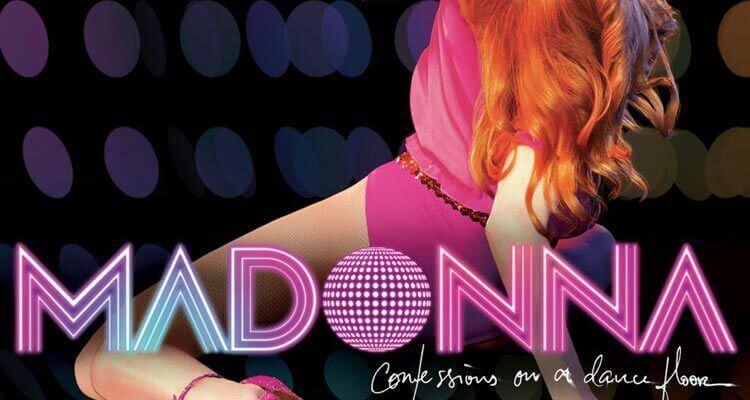 """Portada del disco """"Confessions On A Dance Floor"""""""