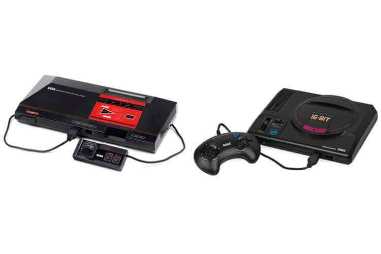 Sega Master System y Sega Megadrive.