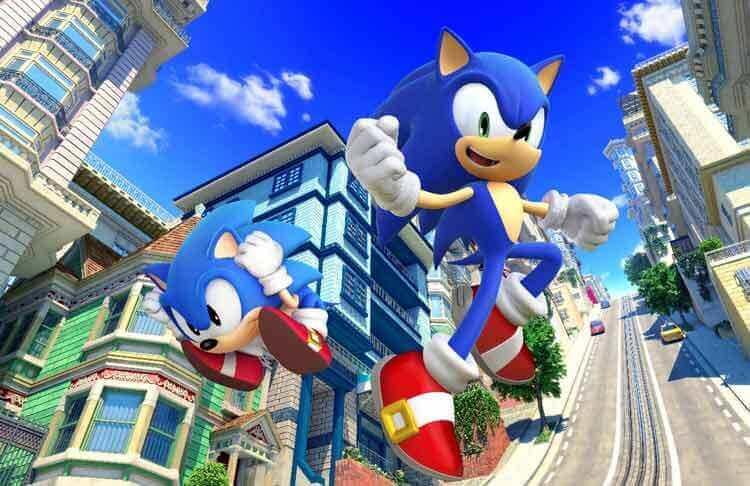El Sonic clásico y el moderno conviven en Sonic Generations (2010).