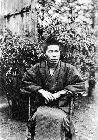 Kajii Motojirō en enero de 1931.