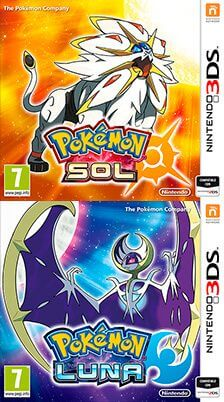 Pokémon Sol Pokémon Luna Portada