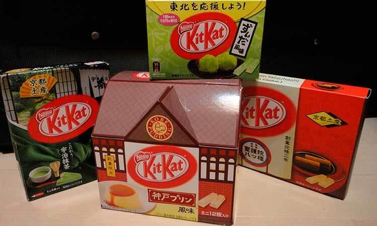 Kit Kat de sabores regionales