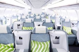 Finnair business A330 overview