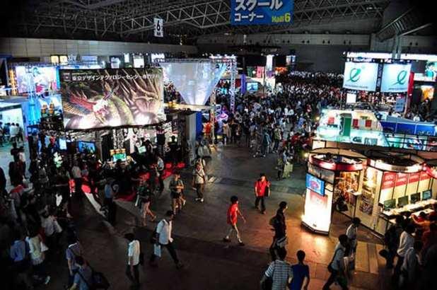 Asistentes a la Tokyo Game Show